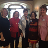 Left to right: Prospective member, Rebecca Leigh, Susan Darer, Catherine Stahl, Liana Moonie, and Karen Heffner