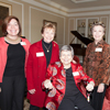 from left, Ellen Hackl Fagan, Ann Caron, Kay Langan, Marcia Clay Hamilton, and Kia Heavey